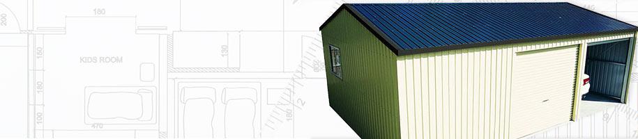 Zinc Steel Garages