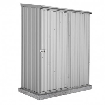 Spacesaver Shed - 1.52m x 0.78m - Single Door Zincalume