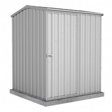 Premier Garden Shed - Single Door - 1.52m x 1.52m Zincalume