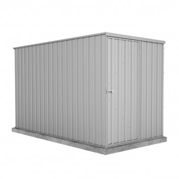 Basic Single Door Garden Shed 1.52m x 3m Zincalume