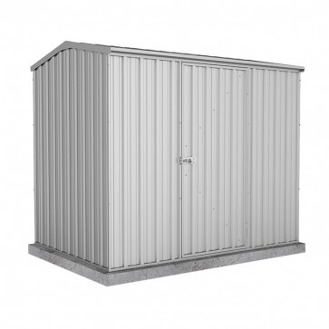 Premier Garden Shed with Single Door - 2.26m x 1.52m Zincalume