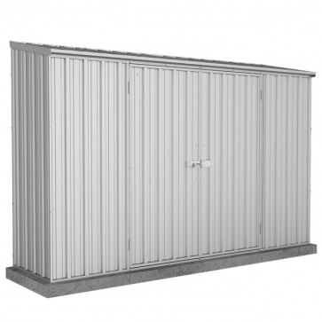 Spacesaver Shed - 3m x 0.78m - Single Door Zincalume