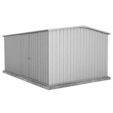Workshop Shed 4.5m x 3 - Double Door Zincalume