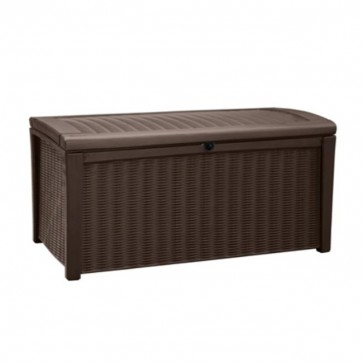 Keter 400L Borneo Storage Box - Chocolate