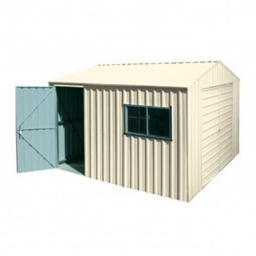 YardPro Portal Plus Workshop 360A - 3.6m x 3.4m - Cyclonic - Colour