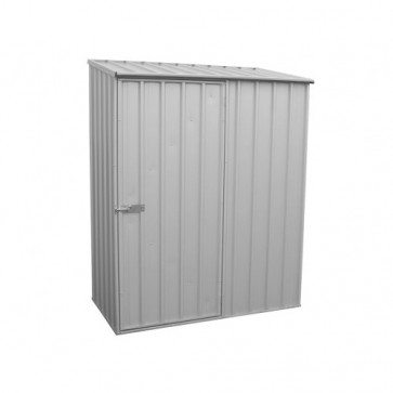 ECO-NOMY Shed - Single Door - 1.52m x 0.78m Zincalume