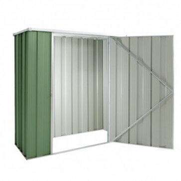 YardSaver Shed F52- Single Door Flat Roof - 1.76m x 0.72m - Colour