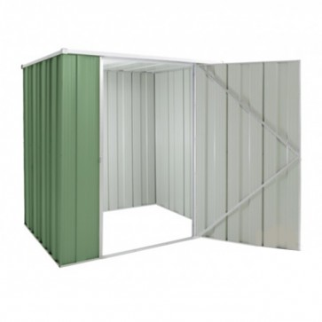 YardSaver Shed F54 - Single Door Flat Roof - 1.76m x 1.41m - Colour