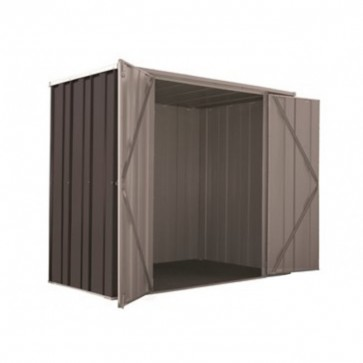 YardSaver Shed F63 - Double Door Flat Roof - 2.105m x 1.07m - Colour