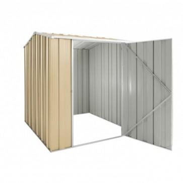YardSaver Shed G56 - Single Door Gable Roof - 1.76m x 2.1m - Colour