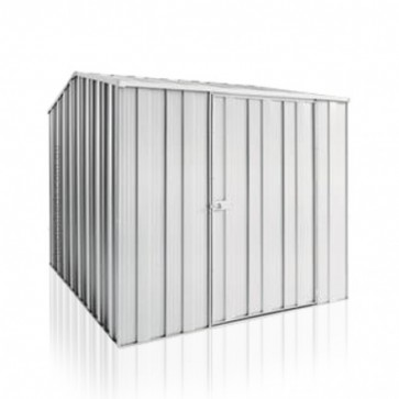 YardSaver Shed G68 - Single Door Gable Roof - 2.1m x 2.8m - Zinc