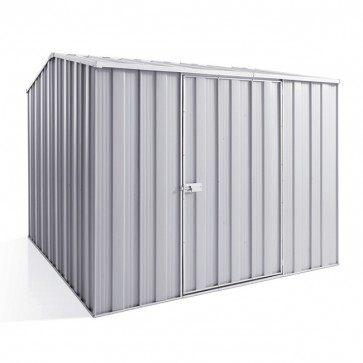 YardSaver Shed G78 - Single Door Gable Roof - 2.45m x 2.8m - Zinc