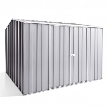 YardSaver Shed G88 - Double Door Gable Roof - 2.8m x 2.8m - Zinc