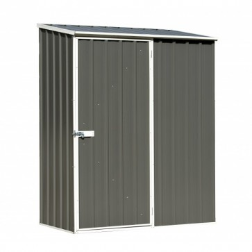 ECO-NOMY Shed - Single Door - 1.52m x 0.78m Colorbond Grey