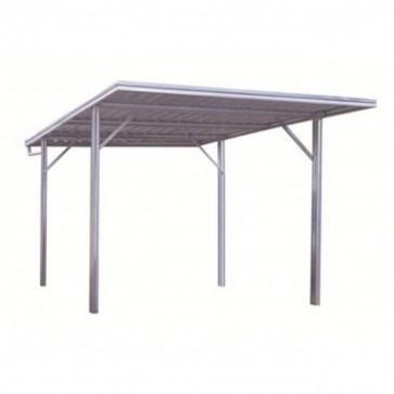 YardPro Carport Single - Flat Roof - 3m x 5.5m x 2.1m - Colour