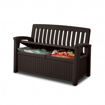 Keter 227L Patio Storage Bench - Brown