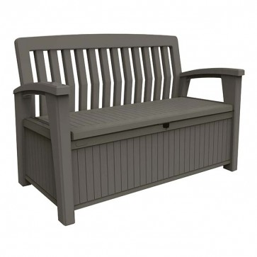 Keter 227L Patio Storage Bench - Taupe