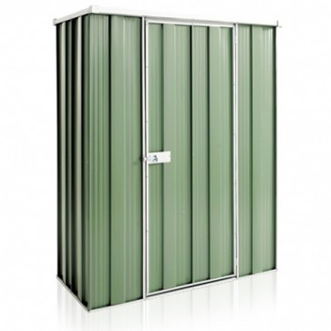 YardSaver Shed F42 - Single Door Flat Roof - 1.41m x 0.72m - Colour