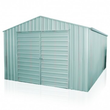 YardPro Portal Plus Workshop 360A - 3.6m x 3.4m - Cyclonic - Zinc