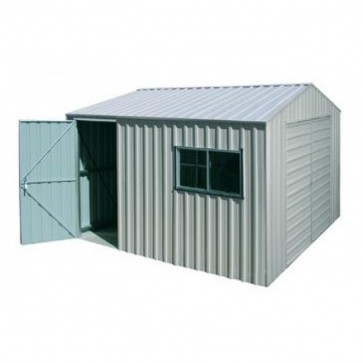 YardPro Portal Plus Workshop 360C - 3.6m x 5.4m - Non-Cyclonic - Zinc