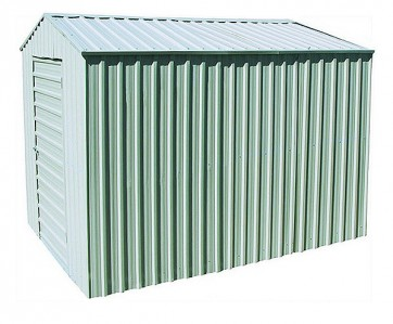 YardPro Portal Plus Workshop 260B - 2.6m x 4.4m - Cyclonic - Zinc