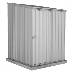 Spacesaver Shed - 1.52m x 1.52m - Single Door Zincalume