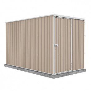 Basic Single Door Garden Shed 1.52m x 3m Paperbark