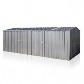 YardPro ECO Plus Workshop 2010 - Gable Roof - 5.9m x 2.8m - Zinc