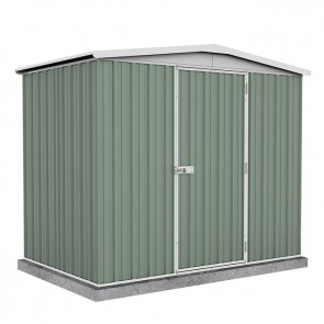Regent Garden Shed - Single Door - 2.26m x 1.44m Colorbond