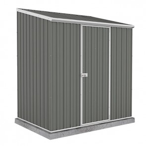 Spacesaver Shed - 2.26m x 2.26m - Single Door Colorbond Woodland Grey