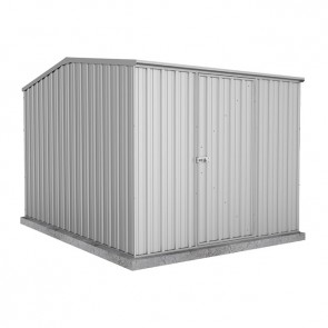 Premier Garden Shed with Single Door - 2.26m x 3m Zincalume