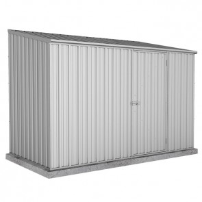 Spacesaver Shed - 3m x 2.26m - Single Door Zincalume