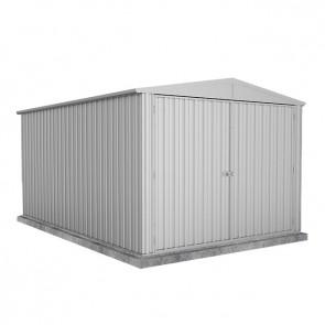 Highlander Garden Shed - Triple Door 3m x 4.48m Zincalume