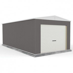 Highlander Garage - Roller Door 3m x 6m x 2.3m Woodland Grey