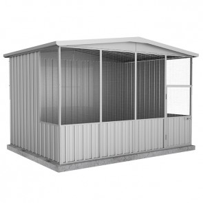 Aviary Gable Roof 3m x 2.22m x 2.06m Zincalume