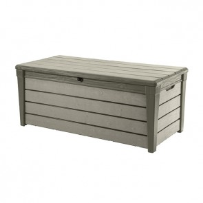 Keter 455L Brushwood Outdoor Storage Box isolated