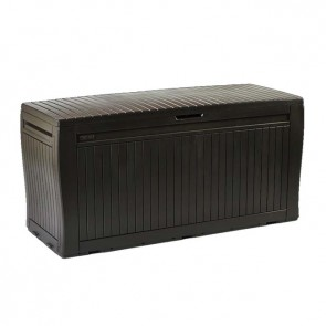 Keter 270L Comfy Storage Box - Chocolate