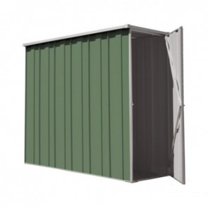 YardSaver Shed F26 - Slimline Flat Roof Side Entry - 2.105m x 0.72m - Colour