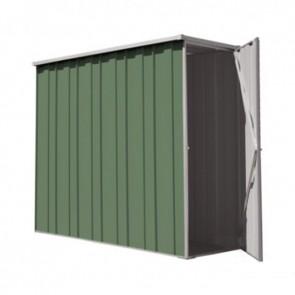 YardSaver Shed F26 - Slimline Flat Roof Side Entry - 2.105m x 0.72m - Colour