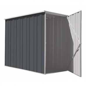 YardSaver Shed F36 - Slimline Flat Roof Side Entry - 2.105m x 1.07m - Colour