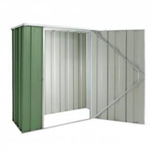 YardSaver Shed F52- Single Door Flat Roof - 1.76m x 0.72m - Colour