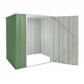 YardSaver Shed F54 - Single Door Flat Roof - 1.76m x 1.41m - Colour