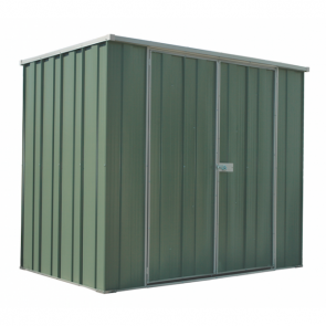YardSaver Shed F64 - Double Door Flat Roof - 2.105m x 1.41m - Colour