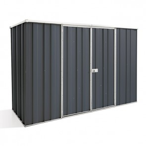 YardSaver Shed F83 - Double Door Flat Roof - 2.8m x 1.07m - Colour