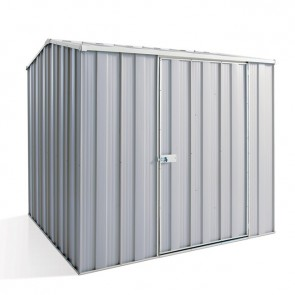 YardSaver Shed G66 - Single Door Gable Roof - 2.1m x 2.1m - Zinc