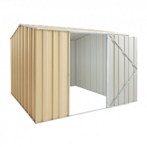 YardSaver Shed G78 - Single Door Gable Roof - 2.45m x 2.8m - Colour