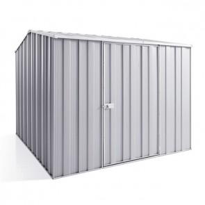 YardSaver Shed G78 - Single Door Gable Roof - 2.45m x 2.8m - Zinc
