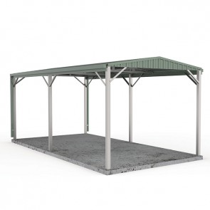Single Carport Gable Roof 3m x 6m W50