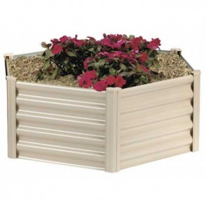Hexies Raised Garden Bed - Hexagonal - 110cm x 41cm - PBH55