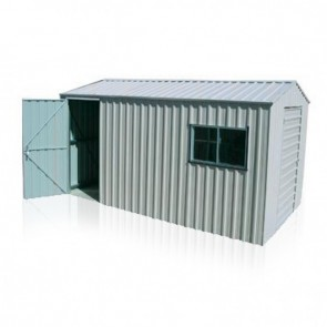 YardPro Portal Plus Workshop 260B - 2.6m x 4.4m - Non-Cyclonic - Zinc
